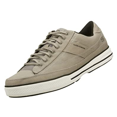 2dc17e0649fb Skechers Mens Sk51033 Lace-Up Shoes Grey Size 10  Amazon.co.uk ...