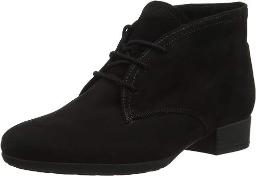 Gabor Shoes Damen Comfort Sport Stiefeletten, Schwarz (Micro