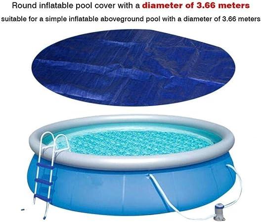 Abok Pool Shade Cloth Protección Solar Cubierta Impermeable contra Polvo para Piscinas para jardín al Aire Libre Mantenga Las Piscinas limpias, 3,66 m: Amazon.es: Hogar