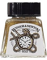 Winsor & Newton Drawing Ink Bottle, 14ml, Gold