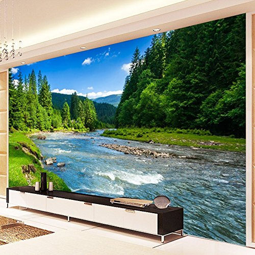 Amazhen Custom 3D Photo Wallpaper Nature Landscape Photography Background Wallpapers For Living Room Bedroom Decor Wall Mural Paintings