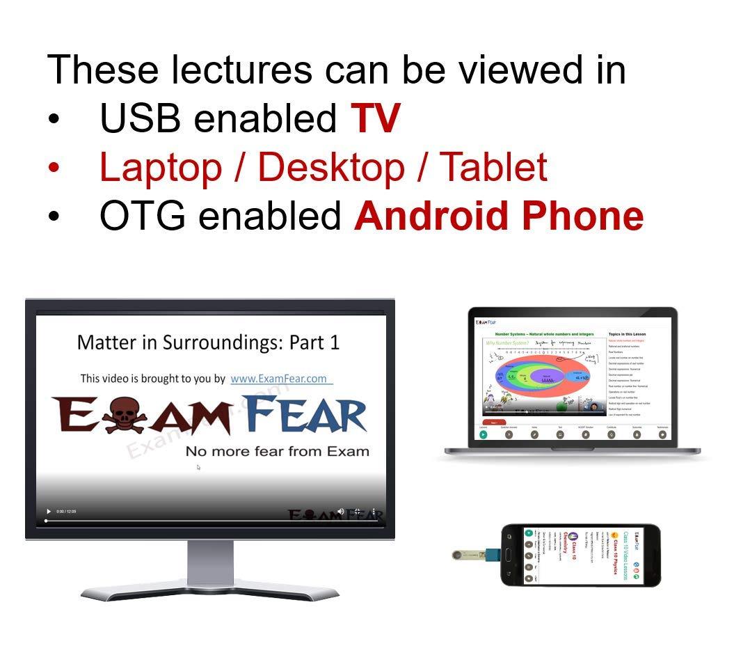 ExamFear Education CBSE Class 10 Preparation (Pendrive + OTG connector)