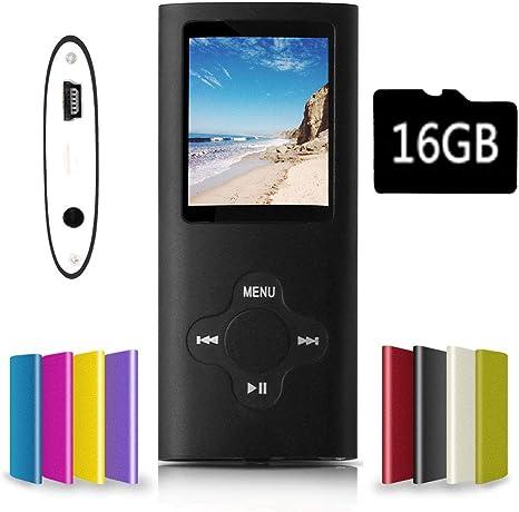 Amazon.com: G.G.Martinsen - Reproductor de MP3 y MP4 con ...