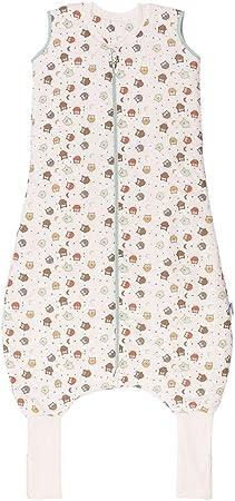 Saco de dormir con pies para niños - Peso standard aprox. 2.5 tog para todo el año y en cuartos con