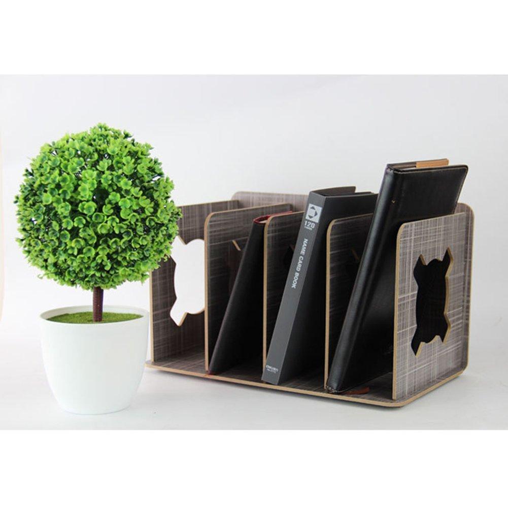 Repisa para libros GossipBoy desmontable, de madera, para organizar escritorios: Amazon.es: Hogar