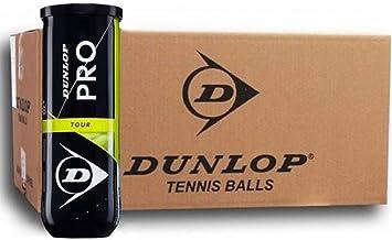Dunlop Pelotas Tenis Pro Tour Pack 72balls (18X4): Amazon.es ...