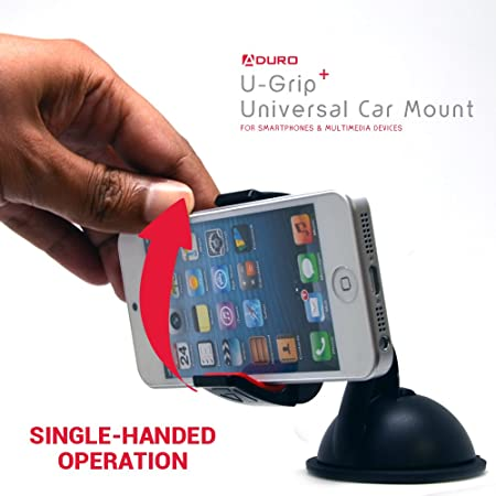 Motorola Droid RAZR // MAXX Galaxy NOTE 2 // 3 // 4 Apple iPhone 6 // 6 Plus // 5 // 5S // 5C // 4 // 4S // 3G Samsung Galaxy S2 // S3 // S4 // S5 // S6 Aduro U-Grip Vent Magnetic Universal Car Mount Holder for Smartphones LG Revolution // Fle HTC ONE // M8 // M9 // X