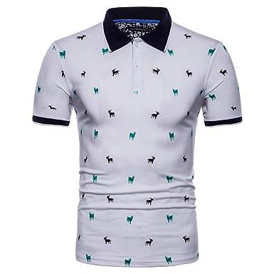 Camisa De Polo De Hombre Camisa De Polo Retro De Gran Tamaño De ...