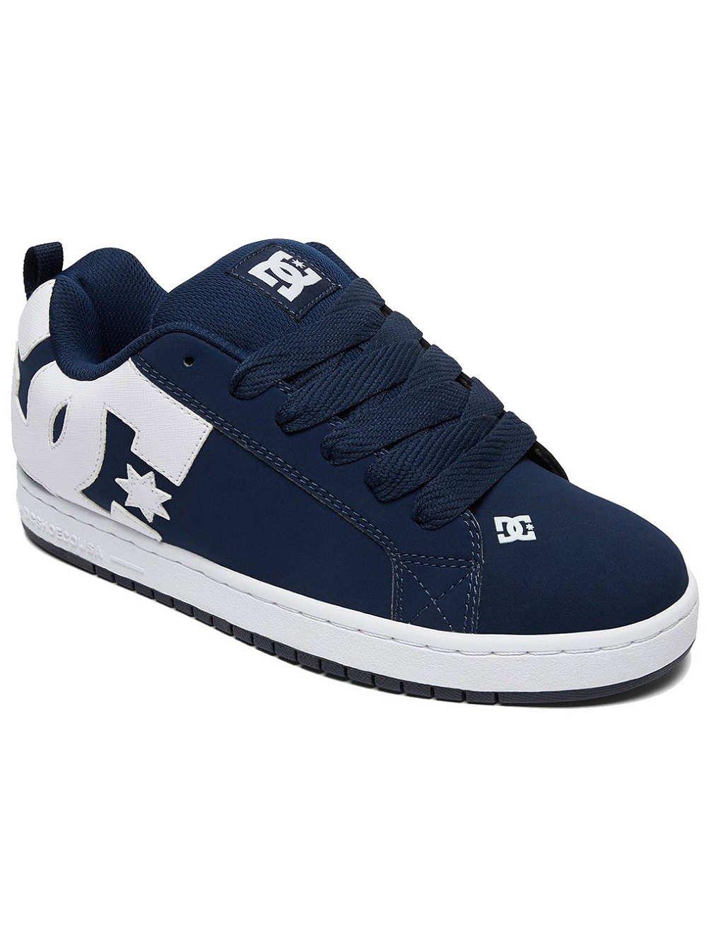 DC Shoes Court Graffik - Zapatillas para Hombre 40.5 EU|Navy White Navy White