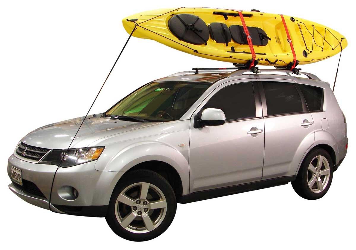 Amazon.com : Malone J Pro 2 J Style Universal Car Rack Kayak Carrier With  Bow And Stern Lines : Automotive Kayak Racks : Sports U0026 Outdoors