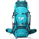 TOPSKY Outdoor Sports Waterproof Hiking Climbing Camping Mountaineering Internal Frame Backpack 70L Unisex Large Trekking Travel Daypacks with Rain Cover (Can extension to 80L)