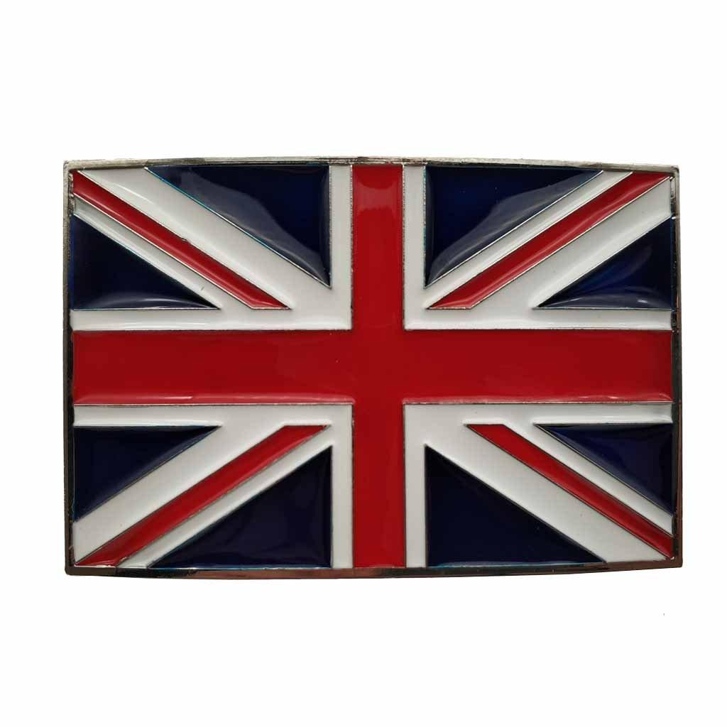 British Flag United Kingdom UK Belt Buckle