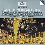 Handel - Royal Fireworks Music · Concerto Grosso ''Alexander's Feast'' · Overtures / The English Concert · Pinnock