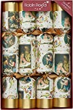 Robin Reed 8-Nativity Christmas Crackers 61702