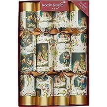 Robin Reed 8-Nativity Christmas Crackers 61702