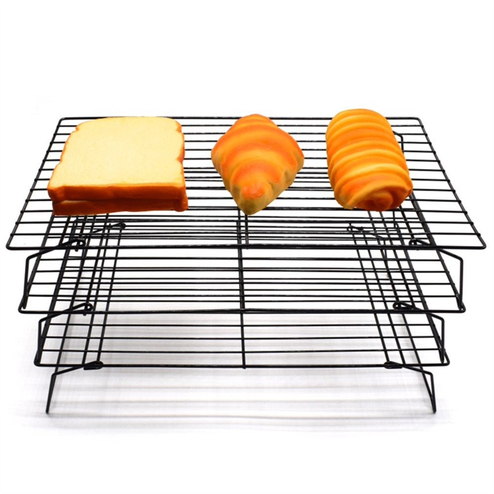 AK ART KITCHENWARE 3 layers Cooling Racks for cookie cake bread Oven Rosting by AK ART KITCHENWARE (Image #1)