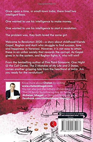 The Revolution Tour 2020 Revolution 2020 Love, Corruption, Ambition: Chetan Bhagat