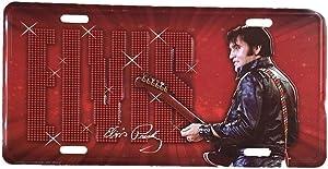 msp Elvis License Plate '68