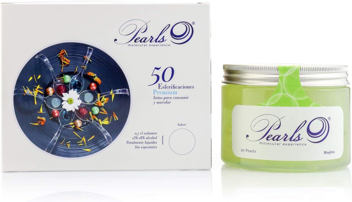 50 Pearls Mojito - Esferificaciones Premium listas para ...