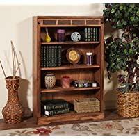 Sunny Designs 2952RO-48 Sedona Height Bookcase, 48