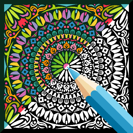 Coloring Book - Mandala Art