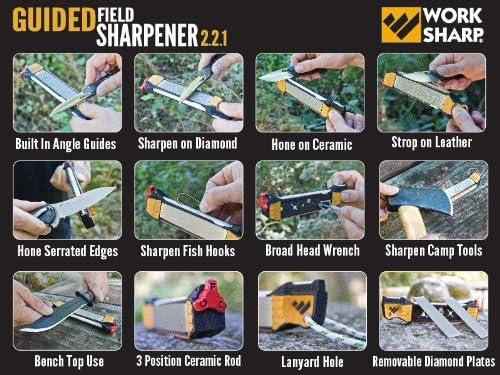 Work Sharp Guided Field Sharpener