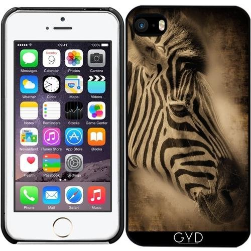 Coque pour Iphone SE - Zebra Afrique Animal by WonderfulDreamPicture
