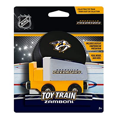Baby Fanatic Nashville Predators Wood Train Zamboni: Sports & Outdoors