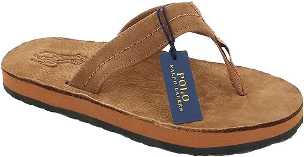 CHANCLAS POLO RALPH LAUREN - XZA6J-BRO-T44: Amazon.es: Zapatos y ...