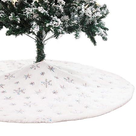 OOOUSE Falda de árbol de Navidad, 48 Pulgadas, Falda de árbol de ...