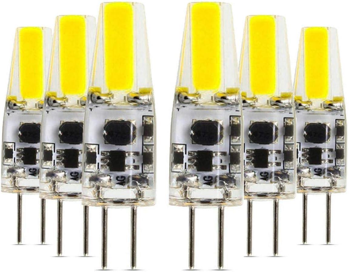Bombillas LED G4 5W 72LED 5730 SMD 400-500 Lm Blanco frío Blanco cálido LED Luces bi-pin AC/DC 12-24 V (1PCS) Bombillas (tamaño: blanco frío)