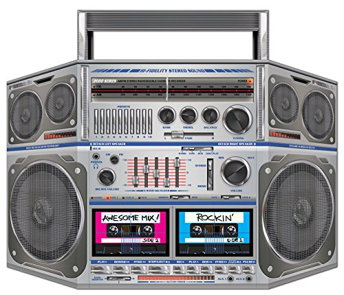Boom Box Stand-Up Party Accessory (1 count) -
