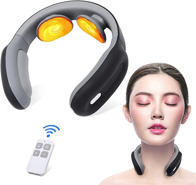 ED44 Neck Cervical Massager EMS Massager Beauty Health Body Massage