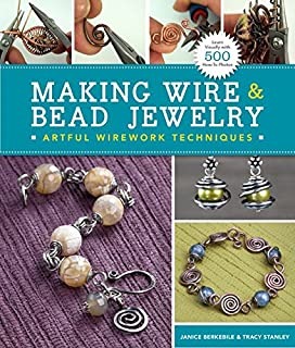 the absolute beginners guide making wire jewelry martine callaghan rh amazon com Wire Wrapped Jewelry Patterns Jewelry Making Tools
