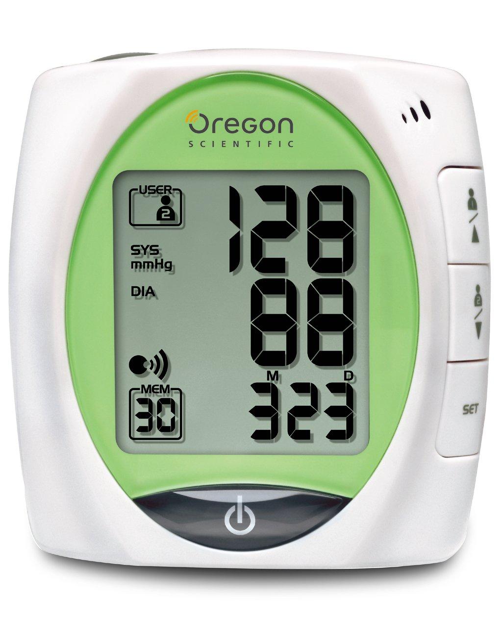 Oregon Scientific oregon bpw810n hablar monitor de presión arterial ...