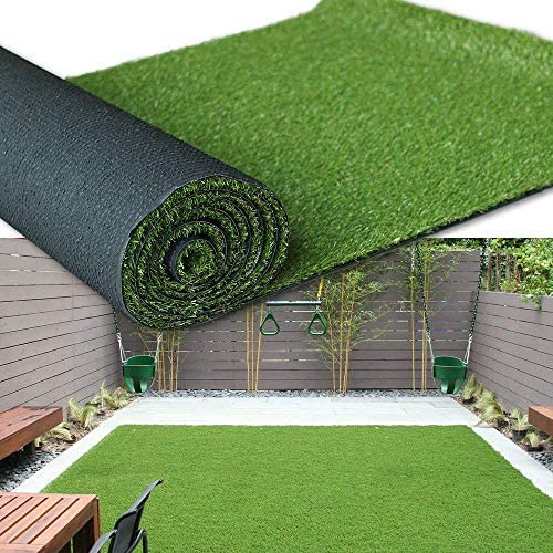 Amazon Com Artificial Grass Turf Area Rug Grass Height 1 38 Size 10ftx20ft Perfect Color Sizing For Any Indoor Outdoor Uses And Decorations Garden Outdoor