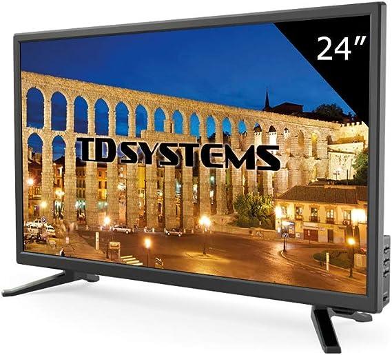 Televisor Led 24 Pulgadas Full HD, TD Systems K24DLT6F. Resolución 1920 x 1080, HDMI, VGA, USB Reproductor y Grabador.: Amazon.es: Electrónica