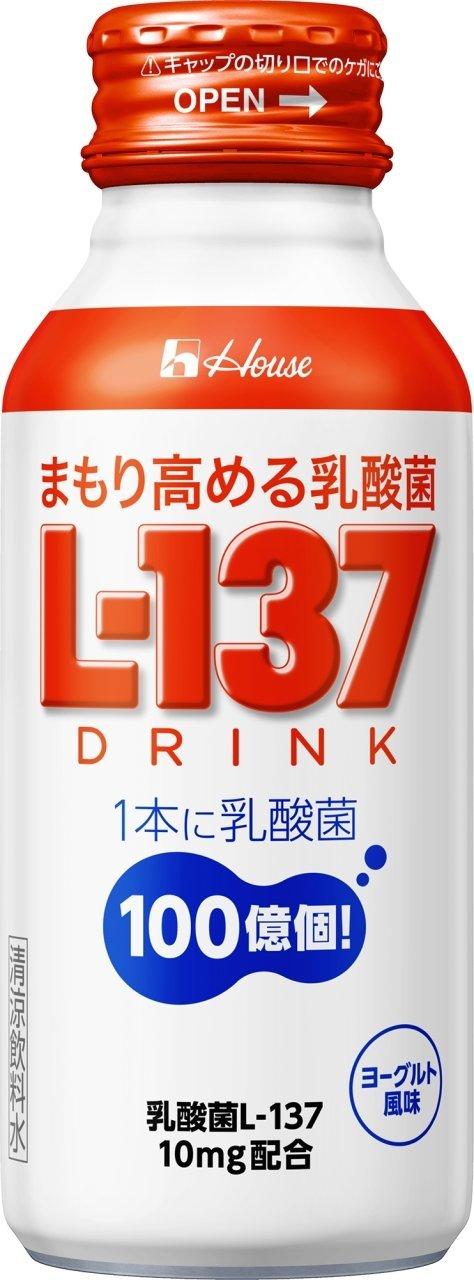 まもり高める乳酸菌L-137 ドリンク 120ml×30本 ハウスウェルネスフーズ