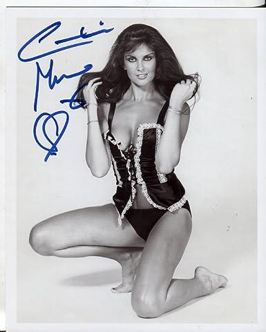 Caroline Munro Classic Very Sexy James Bond Signed 8x10