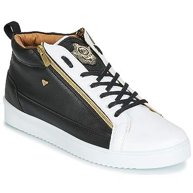 64d74e8450 Cash Money CMS98-BEE Sneaker Herren Schwarz/Weiss/Gold - 42 - Sneaker