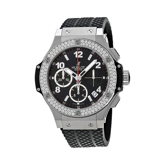 Hublot Big Bang diamante automático cronógrafo - 341. SX. 130. RX. 114   Hublot  Amazon.es  Relojes 2d0953ac207b