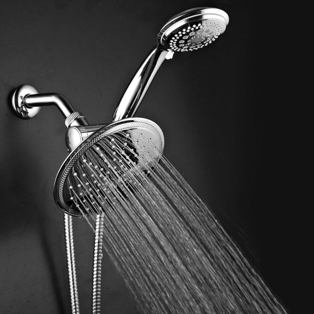 DreamSpa 1432 3-way Rainfall Shower-Head and Handheld Shower, Chrome - -  Amazon.com