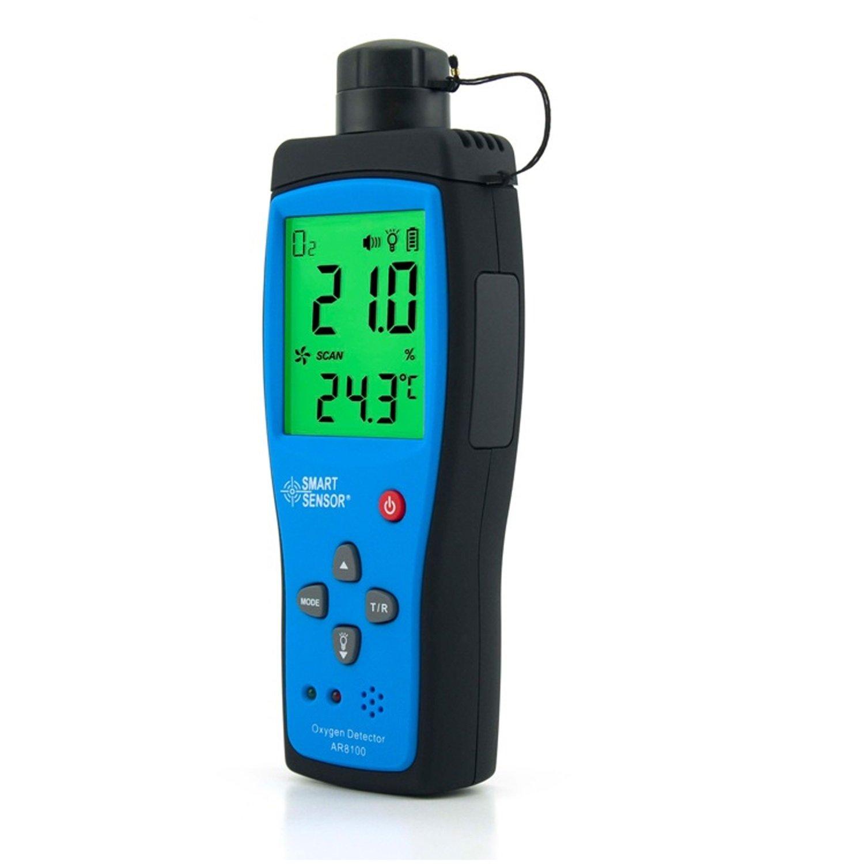 Detectores de oxígeno portátiles de precisión Medidor de O2 AR8100: Amazon.es: Bricolaje y herramientas