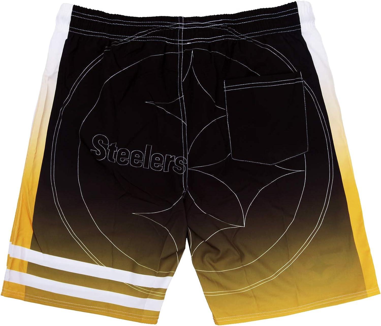 TWO PLUS Mens Swim Gradient Shorts Training Quick Dry Shorts Athletic Shorts Swim Trunks for Men Shorts Elastic for Men