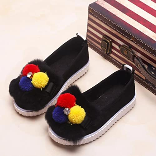 Winkey Shoes For Girls, Children Kid Girls Fashion Hairball Soild Crystal  Warm Sneaker Shoes: Amazon.co.uk: Shoes & Bags