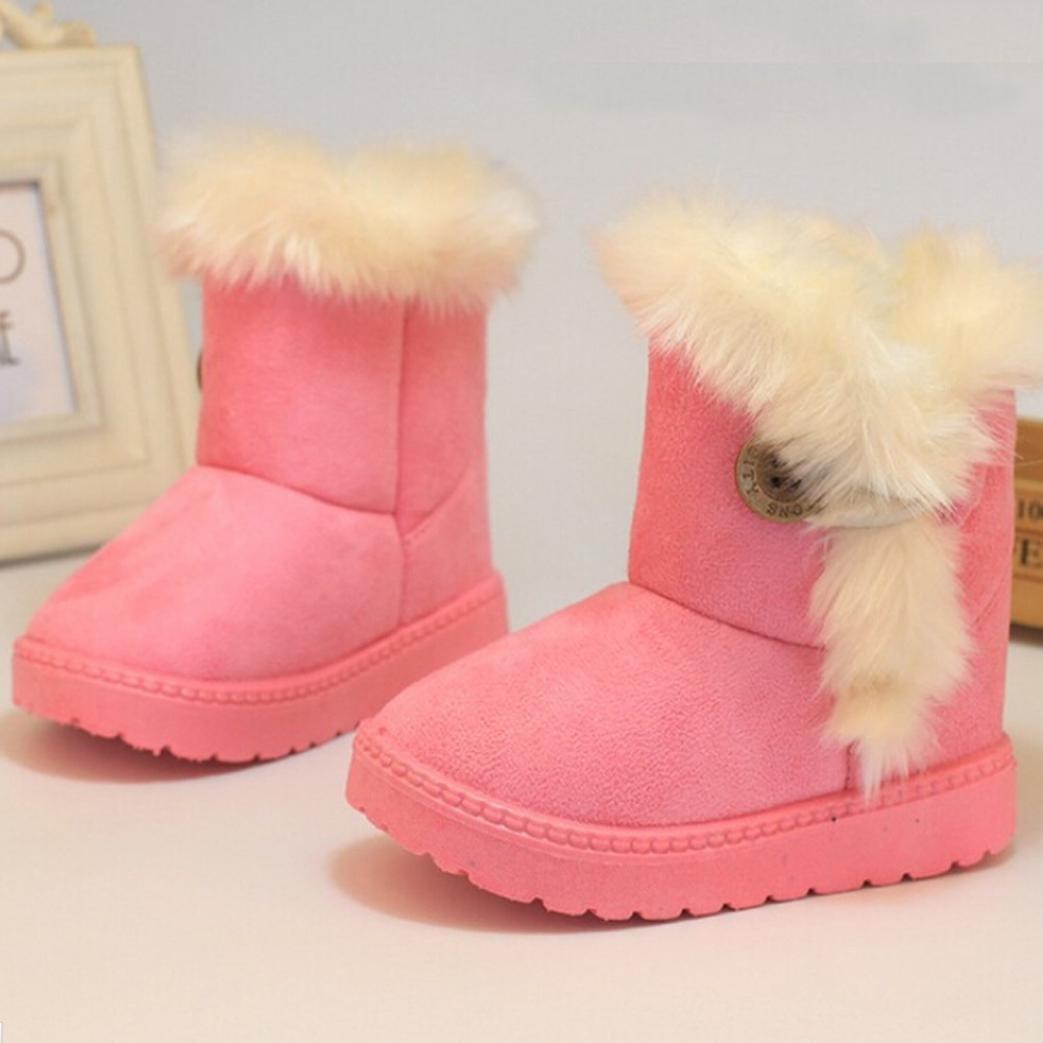 8b16c7ce4f336 Zapatos bebé Niña Niño Amlaiworld Bebé de invierno niñas niños Botas de nieve  Zapatos calientes 1 - 3 Años