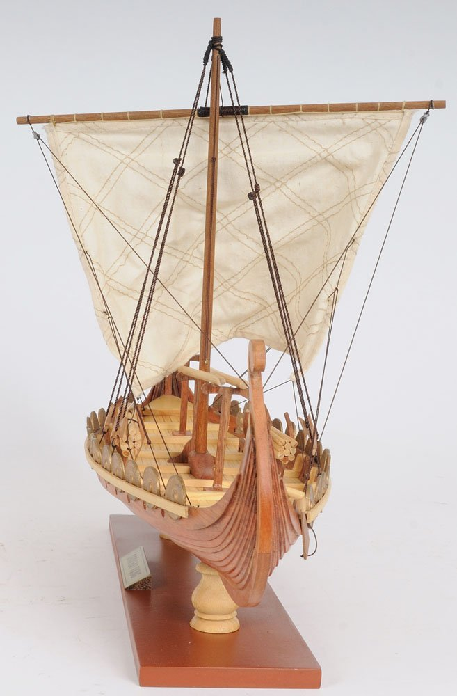 Small Old Modern Handicrafts Handicrafts Drakkar Viking Collectible