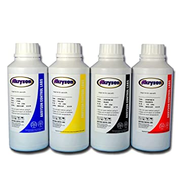Tinta de Sublimación Pack 4 Botellas 500ml para impresoras ...