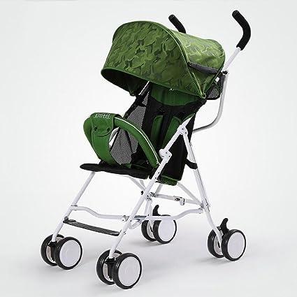 baby stroller Cochecito De Bebé Ligero Plegable Bebé Simple Ultraligero Paraguas Pequeño Verano Niños Carro,