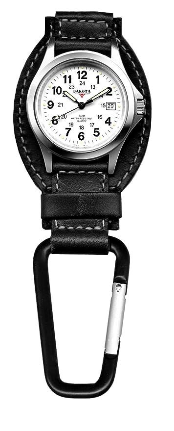Amazon.com: Reloj para exteriores con clip Dakota Watch ...